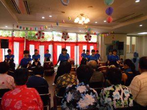 R1夏祭り九産高校和太鼓部紫焔楽